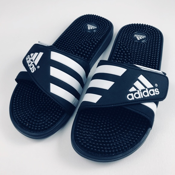 e2d5855eb adidas Other - Adidas Adissage Slides Black Massage Sandals